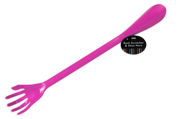 Long Shoe Horn Back Scratcher All-In-One Handy Tool Mobility Easy To Use