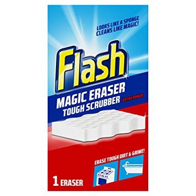 Flash Magic Eraser Tough Scrubber 1 Eraser