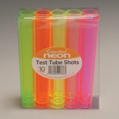 test tube shots 10 pack