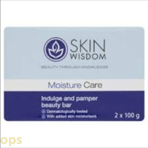 SKIN WISDOM MOISTURE CARE IDULGE AND PAMPER BEAUTY BAR 2X 100GM