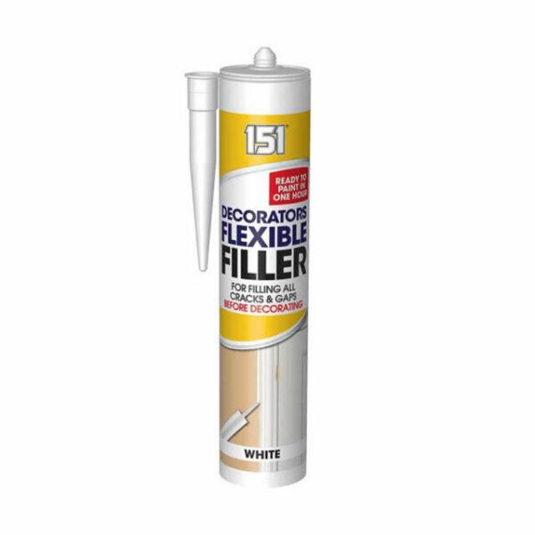 151 Decorators Flexible Filler White 310ml