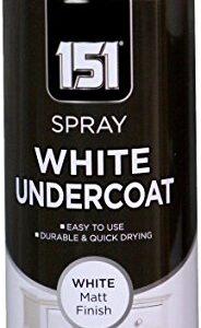 151 Spray White Undercoat White Matt Finish 250ml