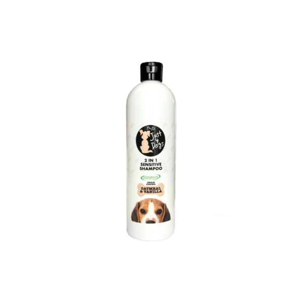 Dr J's Just 4 Dogs 2 in 1 Sensitive Shampoo 500ml