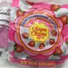 chupa chups 20 scented tealights strawberry & cream