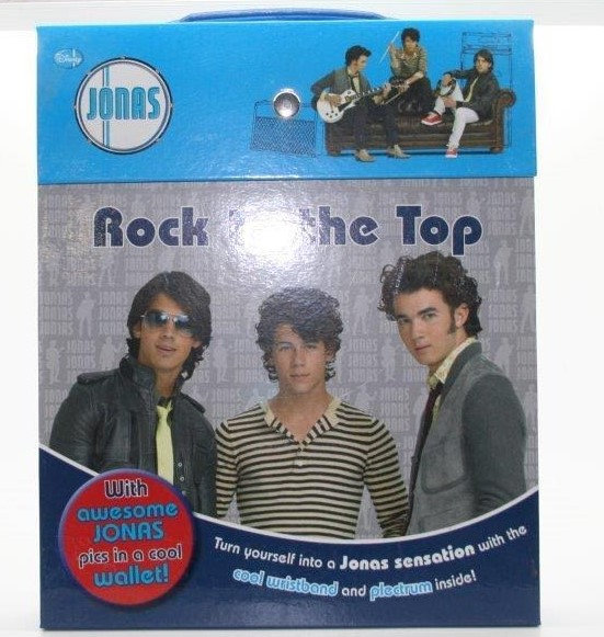 Jonas Brothers Rock To The Top Activity Book