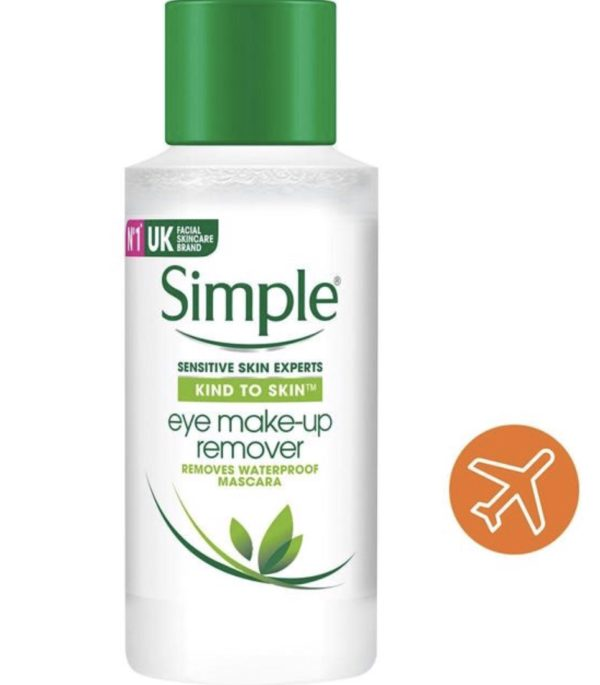 Simple Kind To Eyes Eye Make Up Remover 50ml