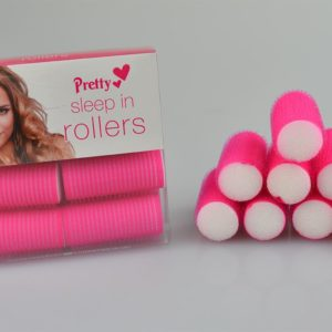 Hair Rollers Sleep In Curls Curly Style Night Self Grip Sponge 25mm