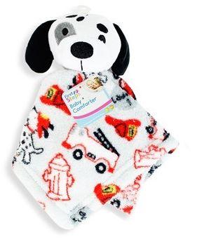 Baby Comforter Snuggle Blanket Soft Plush Newborn Dog Design