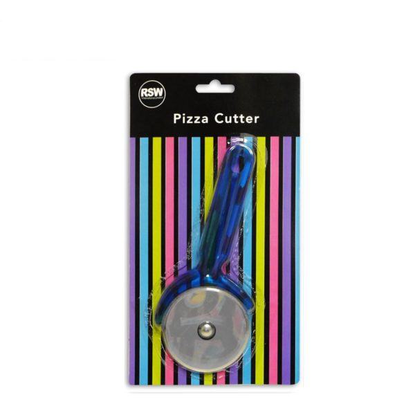Pizza Cutter Heavy Duty Assorted Colours - Green, Blue, Pink, Purple
