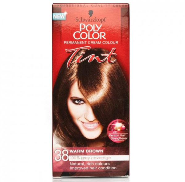 POLY COLOR TINT 38 WARM BROWN