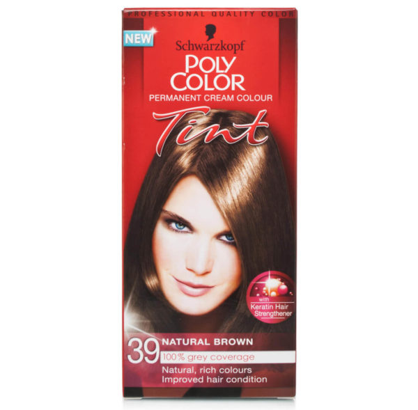 POLY COLOR TINT 39 NATURAL BROWN