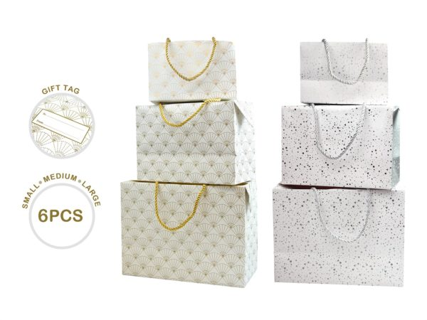 2X GIFT BOXES 1 PACK SILVER + 1 PACK GOLD