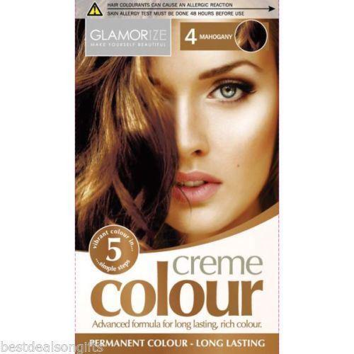 Glamorize Creme Colour 4 Mahogany