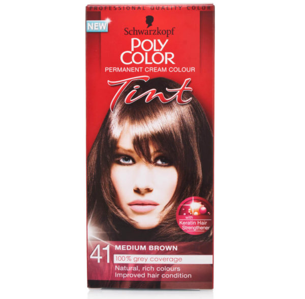 POLY COLOR TINT 41 MEDIUM BROWN