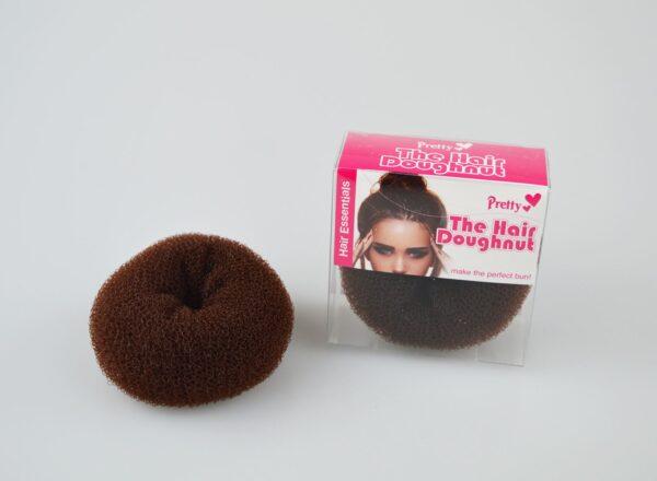 The Hair Doughnut by Pretty 80mm | Make the perfect bun in an instant! | Brown