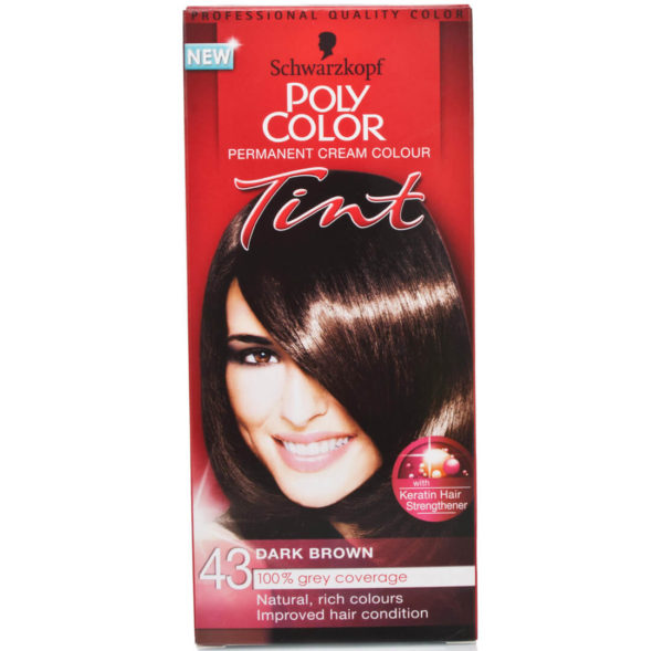 POLY COLOR TINT 43 DARK BROWN