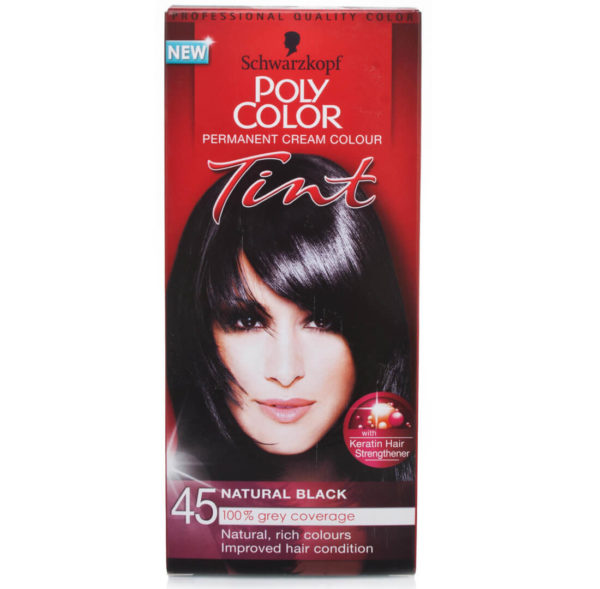 POLY COLOR TINT 45 NATURAL BLACK