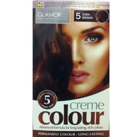 Glamorize Creme Colour 5 Dark Brown