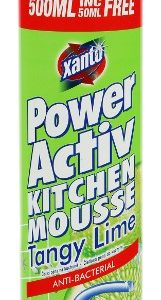 XANTO 500ml Tangy Lime Kitchen Cleaning Mousse