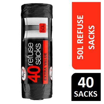 40 Refuse Sacks On A Roll
