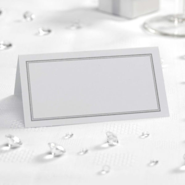 50 wedding table place cards