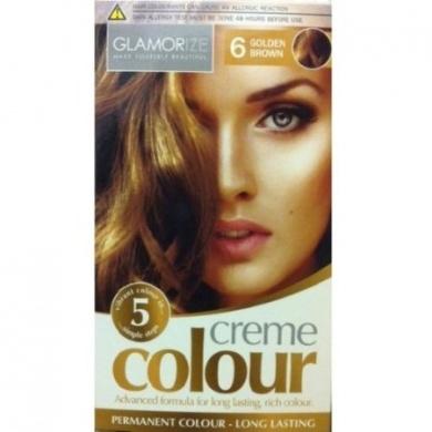 Glamorize Creme Colour 6 Golden Brown