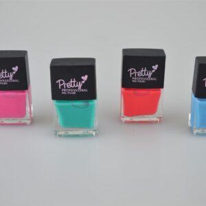 Pretty Professional Matte Finish Collection | 4 x 12ml Bottles Nail Polish