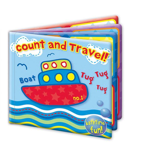 Bath Book Baby Waterproof Floating Educational & Fun Bath Toy 'First Steps'