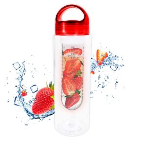 Fruit Infuser Bottle 700ml Non Leak Infusing Water Sports Outdoor Health Juice