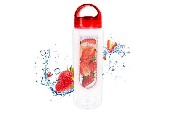 Fruit Infuser Bottle 700ml Non Leak Infusing Water Sports Outdoor Health Juice