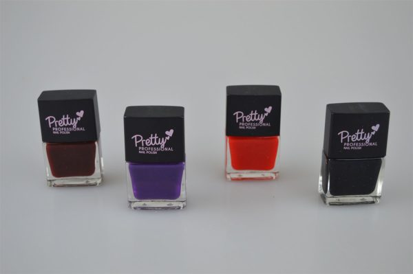 Pretty Professional High Gloss Glam Collection | 4 x 12ml Bottles Nail Polish
