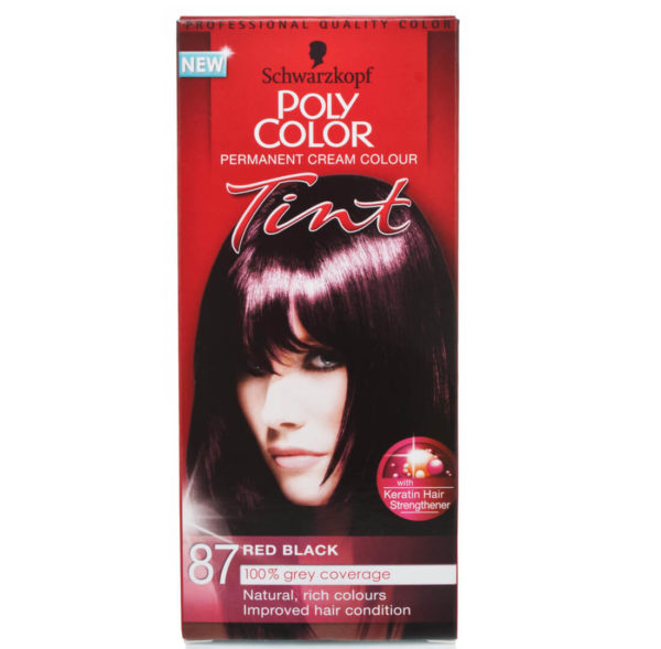 POLY COLOR TINT 87 RED BLACK