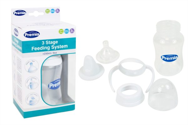 3-Stage Baby Feeding Transition Bottle 8oz