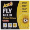ACTIVE FLY KILLER WINDOW STICKERS OUT OF DATE STILL PERFECTLY FINE.
