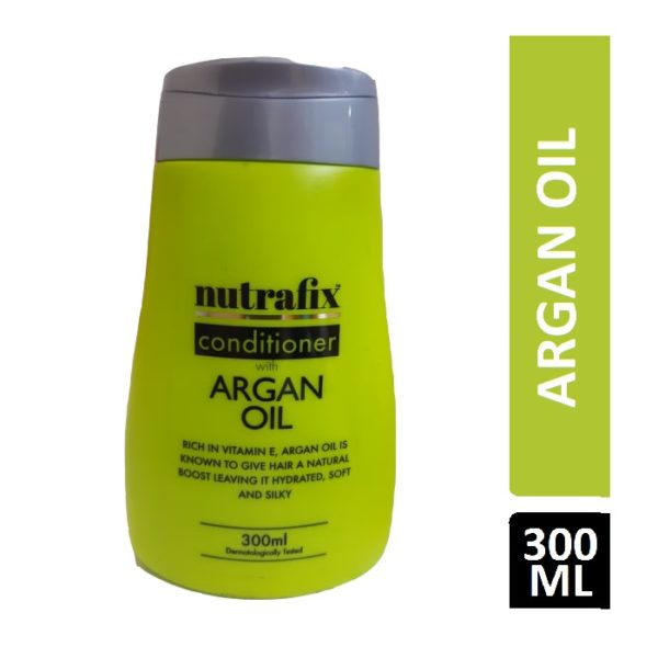 NUTRAFIX CONDITIONER WITH ARGAN OIL 300ML
