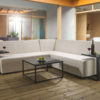 Albury 5pc Modular upholstery set with waterproof covers - Cream Fabric