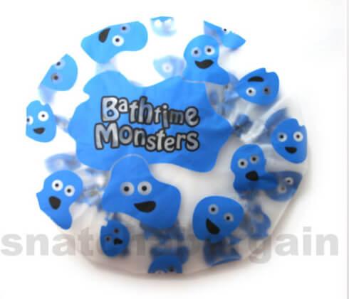BATHTIME MONSTERS KIDS FUN SHOWER CAP