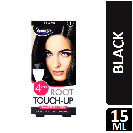 Glamorize 4-step root touch-up 1 black