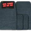 Promotional 4pce Rubber Mat Sets -Black