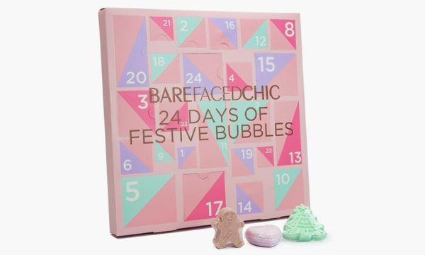 Bare Faced chic Advent Calendar Perfect Xmas Gift
