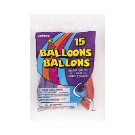 Balloons- Assorted Balloons (15)