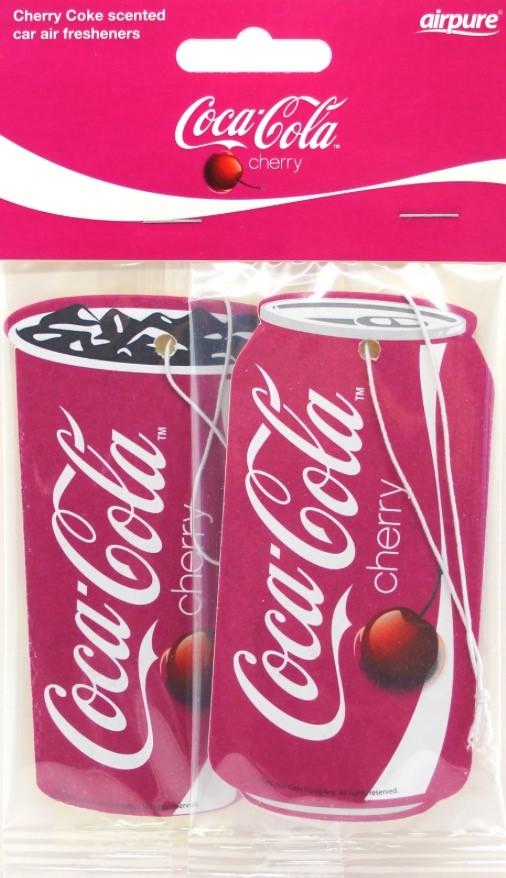Cherry Coke Car Air Freshener x 2 Airpure