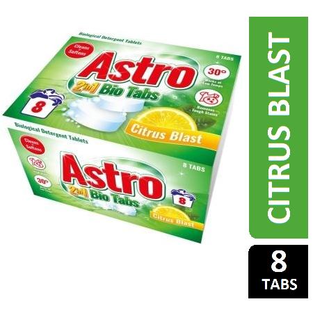 ASTRO 2 IN 1 BIO TABS CITRUS 8 TABS