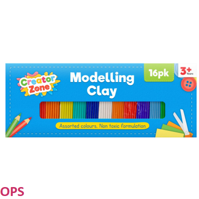 Modelling Clay Set 16pk
