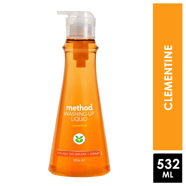 Method Washing Up Liquid Clementine 532Ml