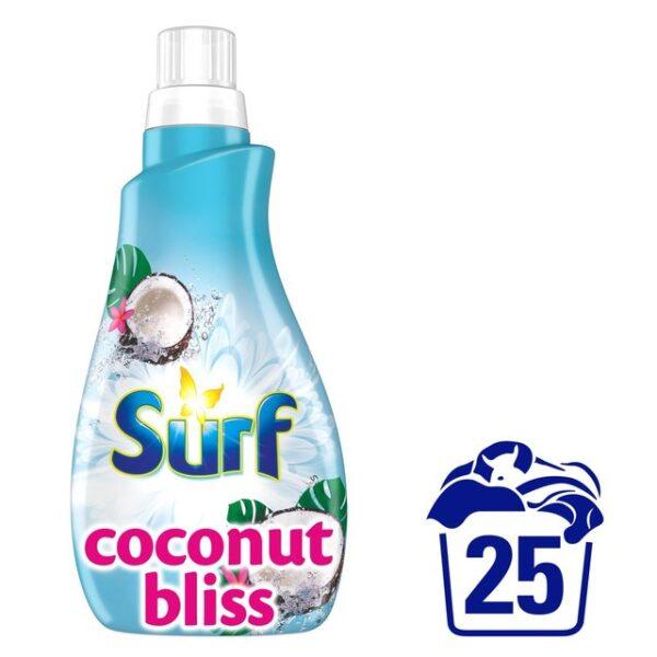 Surf Liquid Detergent Coconut Bliss 25 Washes 875ml