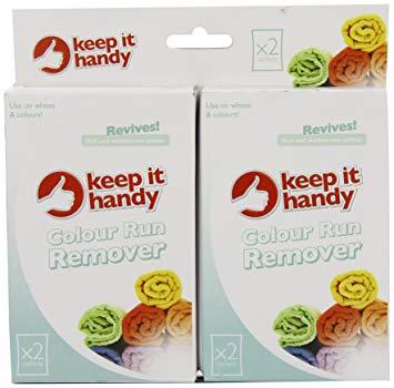 KEEP IT HANDY COLOUR RUN REMOVER X2 SACHETS