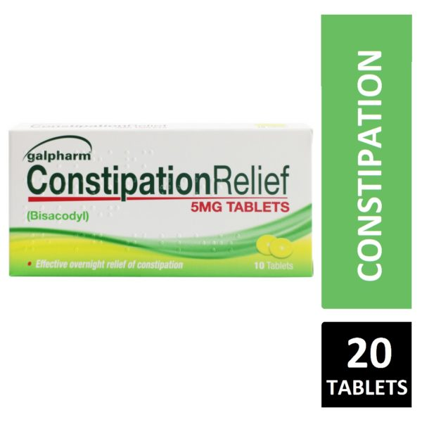 Galpharm constipation relief 20 tablets 5mg