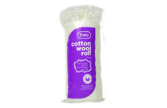 COTTON WOOL 100GM ROLL QUALITY COTTON