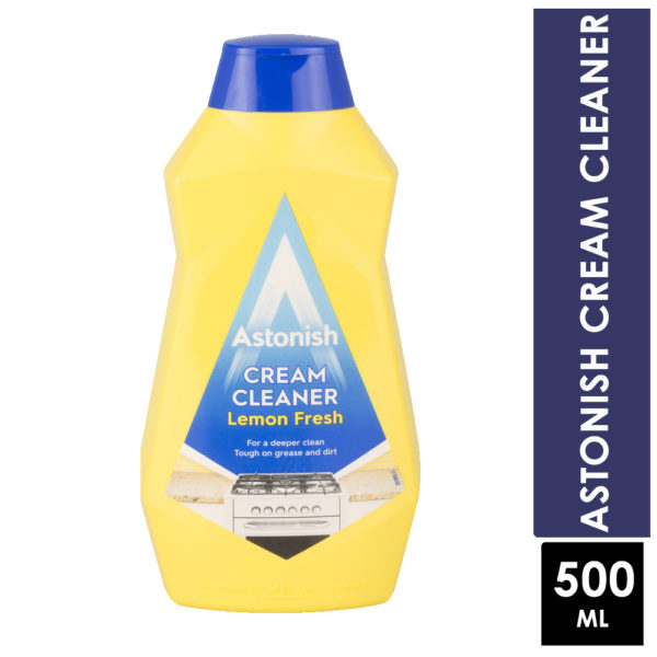 Astonish Lemon Fresh Cream Cleaner